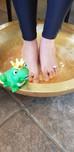 Immunstärkung über die Füße