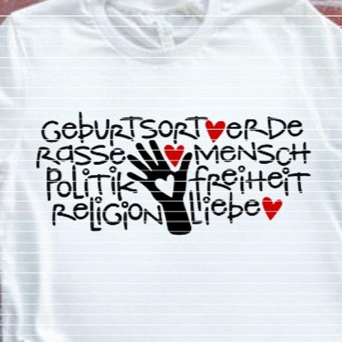 """Plotterdatei """"Mensch Liebe"""""""