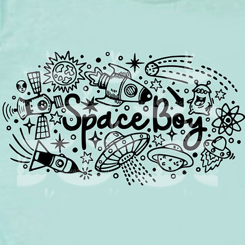Plotterdatei Space Boy