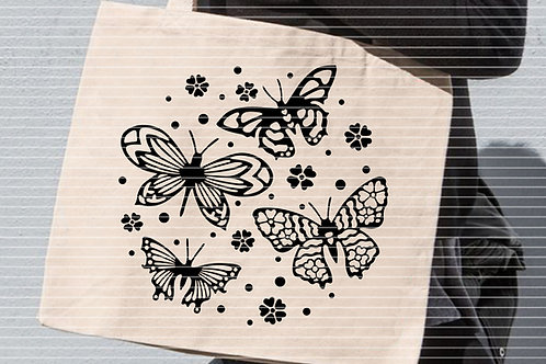 """Plotterdatei """"4 Deko Schmetterlinge"""""""
