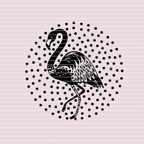 "Plotterdatei Strassdatei ""Flamingo"""