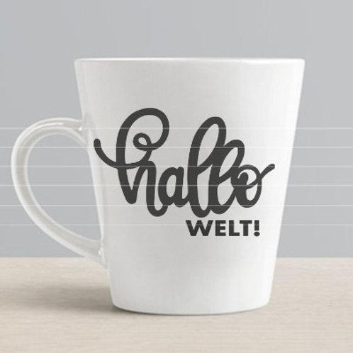 """Plotterdatei """"Hallo Welt"""""""