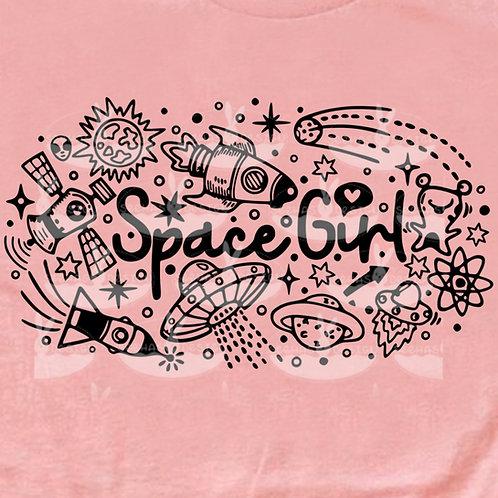 Plotterdatei Space Girl