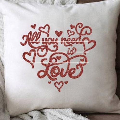 "Plotterdatei ""All You need is Love"""