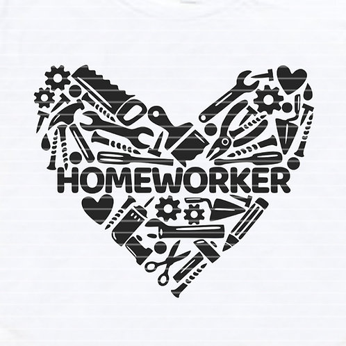 "Plotterdatei ""Homeworker"""