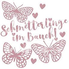 """Plotterdatei Folienmotiv SVG  """"Schmetterlinge im Bauch""""   3.50"""