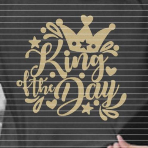"""Plotterdatei """"King of the Day"""""""