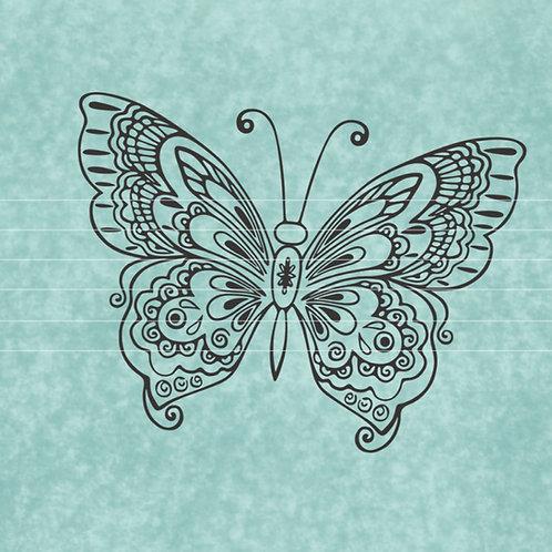 "Plotterdatei ""Schmetterling"""