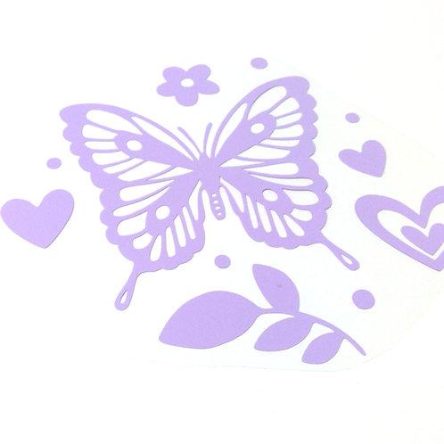 """Gratis Plotterdatei """"Schmetterling"""" mit Schritt für Schritt PDF-Anleitungen"""