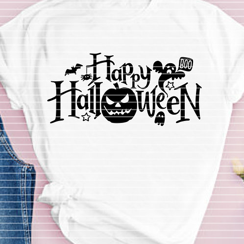 "Plotterdatei ""Happy Halloween"""
