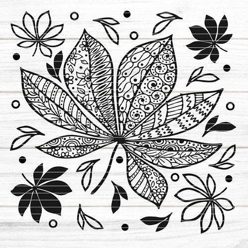 """Plotterdatei """"Herbstblätter"""""""