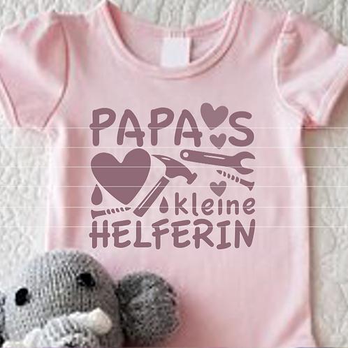 """Plotterdatei """"Papas kleine Helferin"""""""