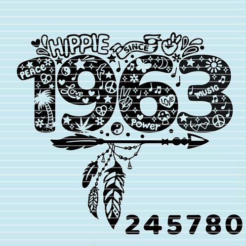 """Plotterdatei """"Hippie Since"""""""