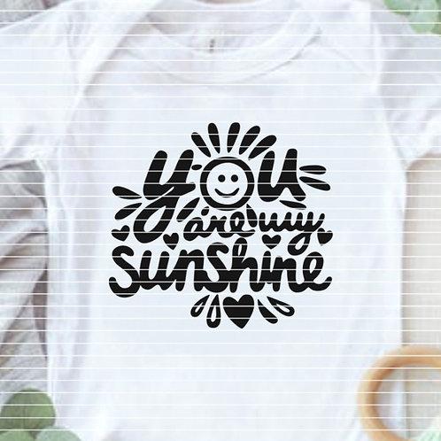 "Plotterdatei ""You are my sunshine"""