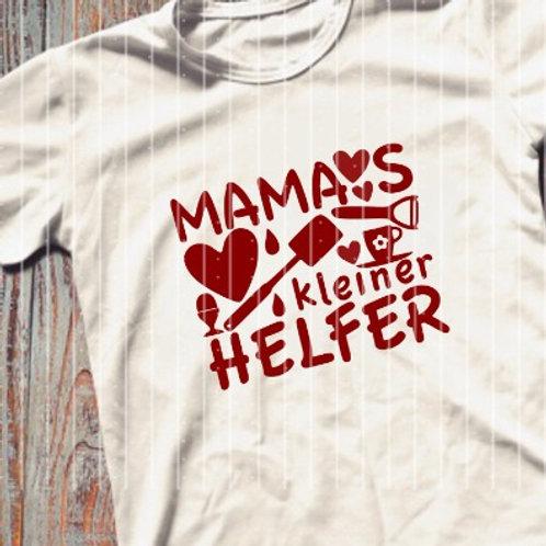 """Plotterdatei """"Mamas kleiner Helfer"""""""