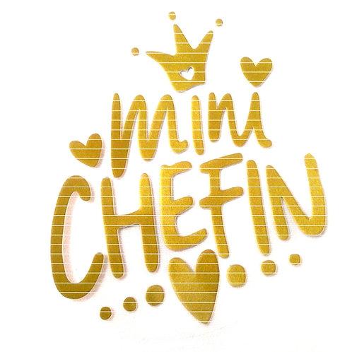 """Plotterdatei """"Mini Chefin"""""""