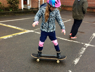 Easter Trail & Skateboarding Workshop