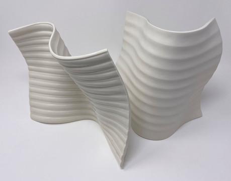 Sculpture, porcelain, glaze