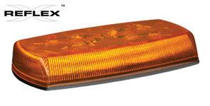 Torreta Media Barra LED 12-24VCD LED Ambar Ecco