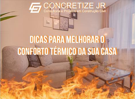 Dicas para melhorar o conforto térmico da sua casa