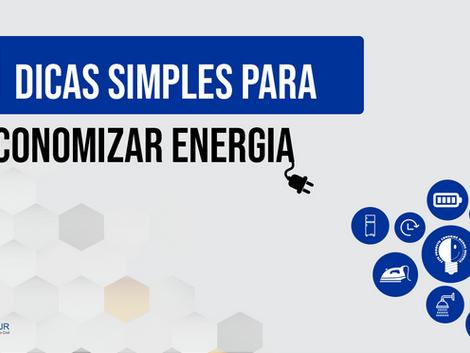 Conta de luz alta? Veja 11 dicas simples para economizar energia!