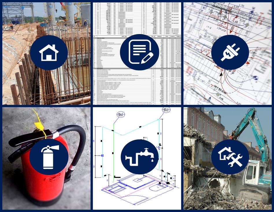 Exemplos de projetos técnicos