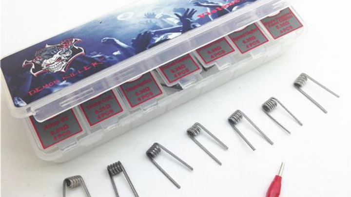 Demon Killer Violence Pre Built Coils 7in1 28pcs