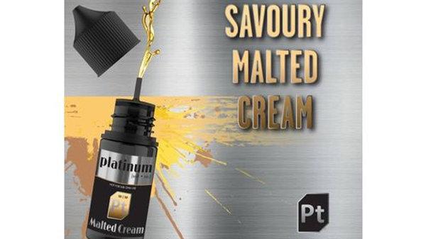 Platinum Vapour - Malted Cream Salt Nic & MTL