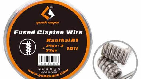 GeekVape Kanthal A1 Fused Clapton (24GAX2+36GA) 10ft
