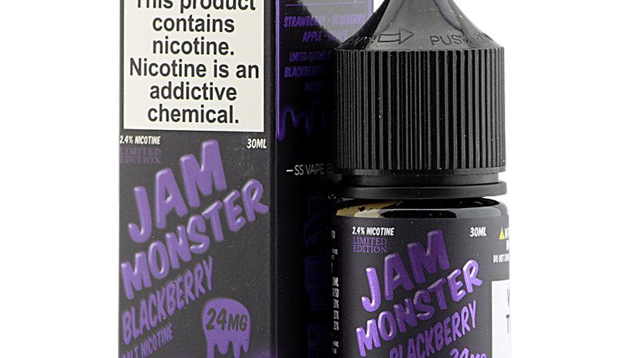Jam Monster - Blackberry Salts 30ml 24mg