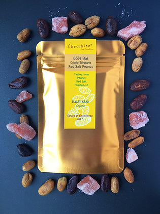 Red Salt Peanut 65% Bali Trinitario Chocolate