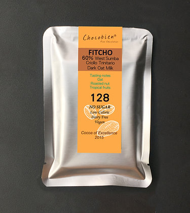 FITCHO 60% Oatmilk Dark Chocolate