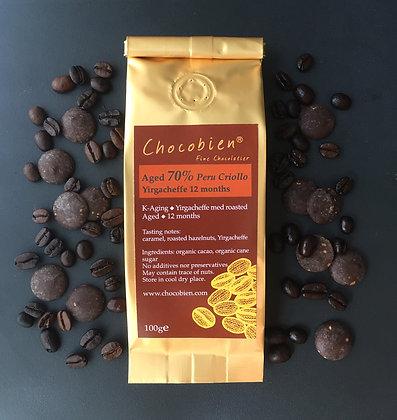 coffee aged chocolate