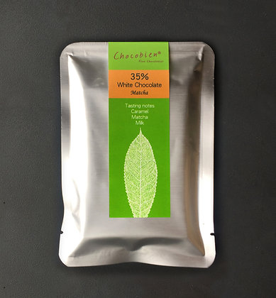 35% White Chocolate Matcha bar 50g