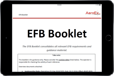 Cleared for Take-off: AeroEx Launches Toolkit Options for New EU EFB Regulatory Compliance