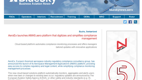 AeroEx launches AMAS.aero platform that digitizes and simplifies compliance management