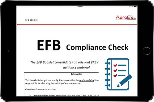 EASA EFB Compliance Check