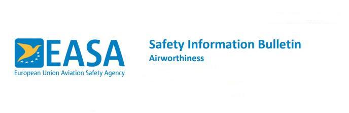 EASA Safety Information Bulletin (SIB) | AeroEx InSight screening