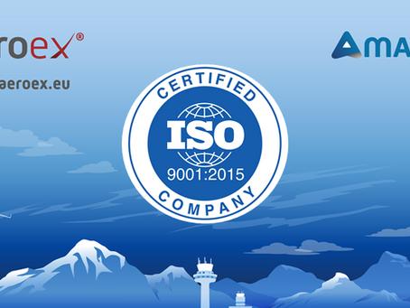 AeroEx passed ISO 9001: 2015 Certification, Again!