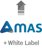 AMAS - white label upgrade - customized with your logo/branding (Add-on)