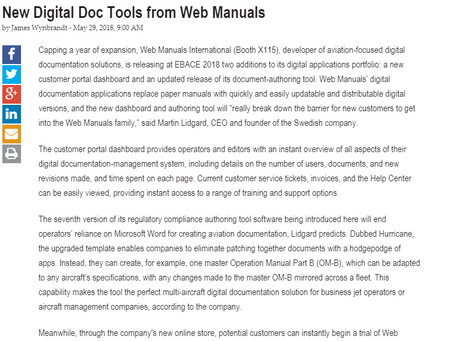 New Digital Doc Tools from Web Manuals
