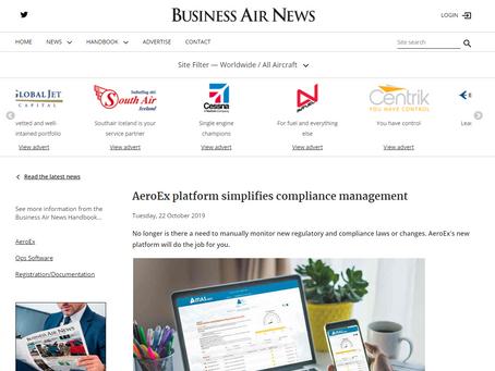 AeroEx platform simplifies compliance management