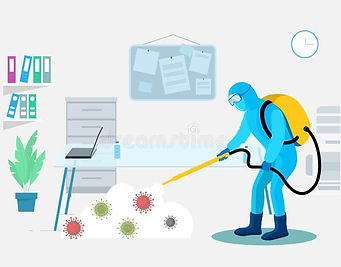 Sanitization of offices in Delhi NCR, Best in class affordable sanitization service Delhi's Guardians
