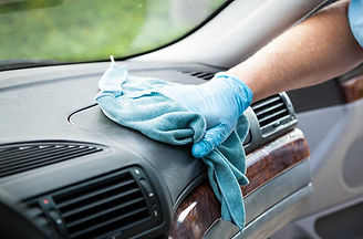 Sanitizing car surfaces, best sanitization service in delhi ncr
