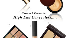 Current 5 High End Concealer Favourites!