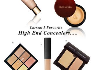 Current 5 High End Concealer Favourites!