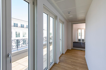 Penthouse-Etage der Villa Rosa
