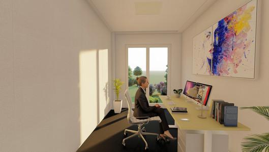 Großzügiges Einzelbüro