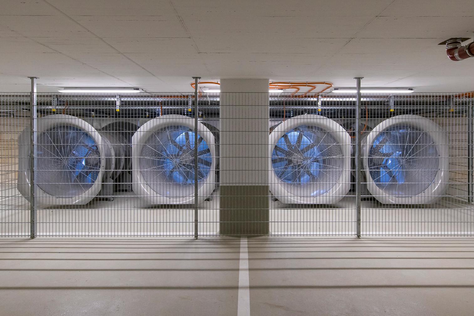 Die Entrauchungs -Ventilatoren