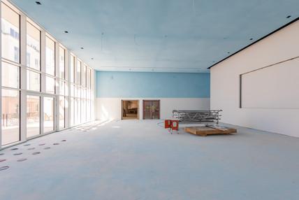 Forum Oberkassel - Erdgeschoss im Umbau
